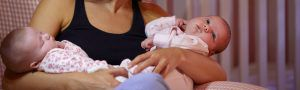 breastfeeding twins 300x90 Emergency Maternity Nurses UK and Overseas