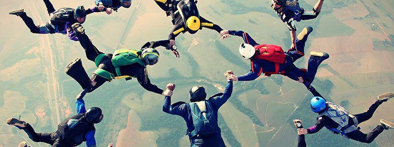 Skydiving for Restart Rugby