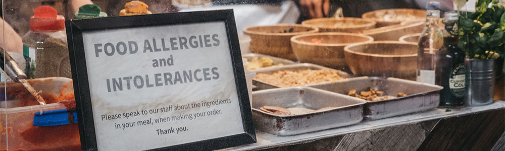 Know Your Food Allergies and Intolerances